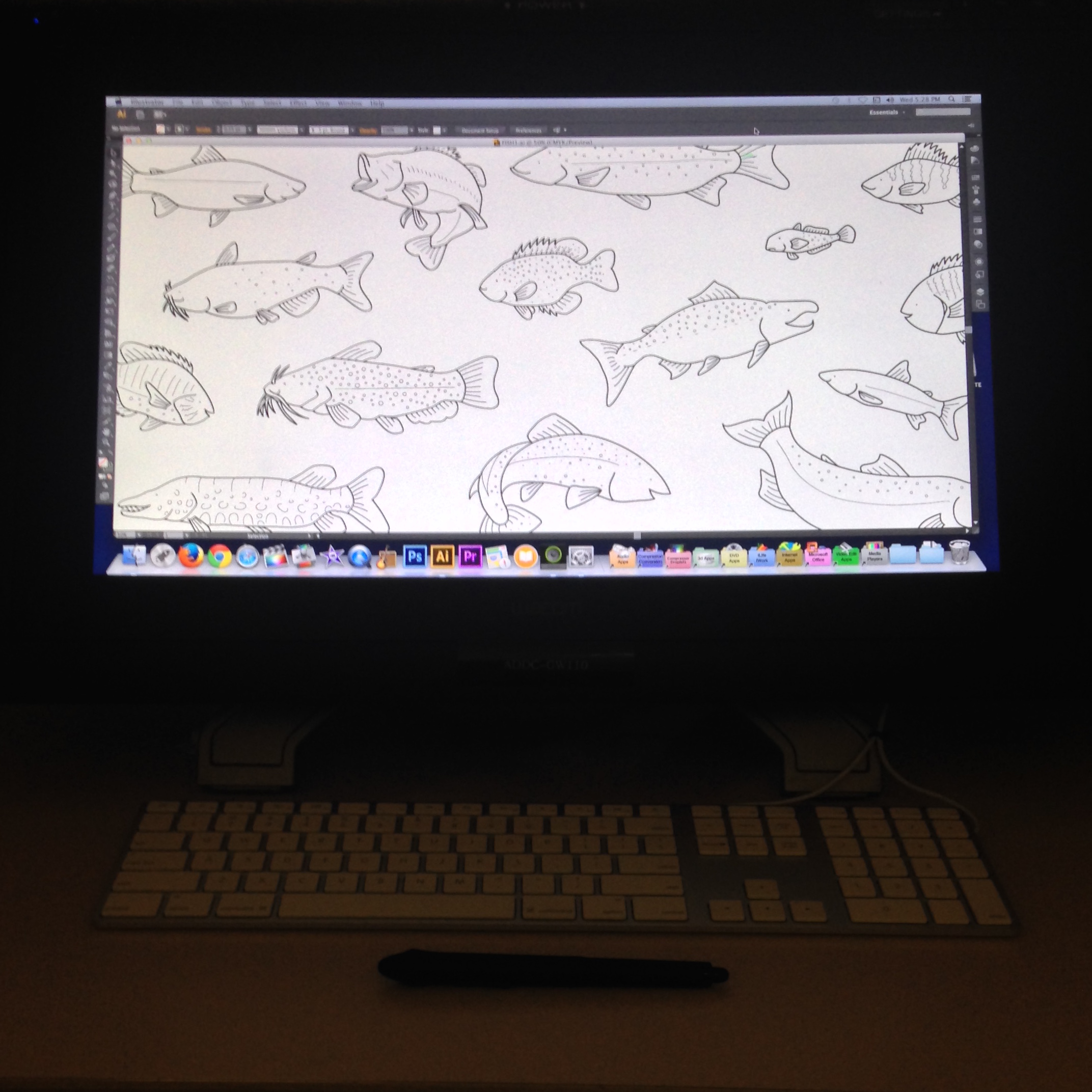 Fish poster 2